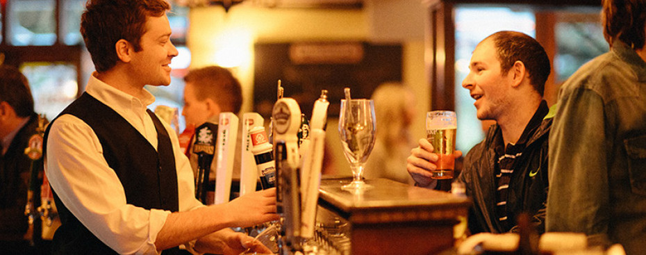 25 draught beers on tap at Dubh Linn Gate Pub